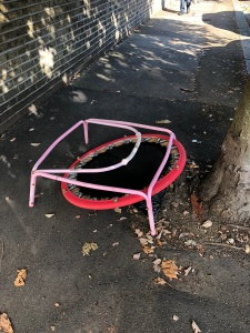 It's broken throw it in the street
