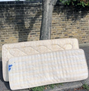 Why risk a fine when you can get your old mattresses collected for free.