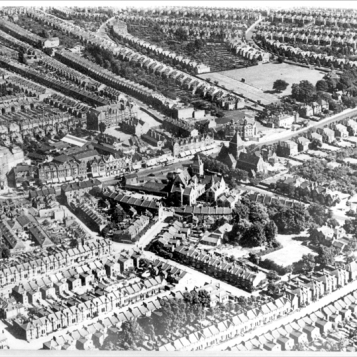 Aerial view of Catford circa 1920