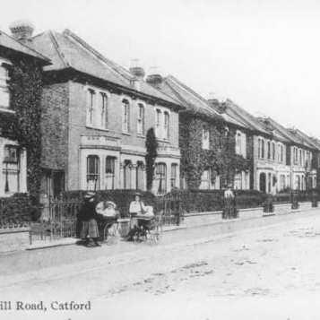 Brownhill Road circa 1905