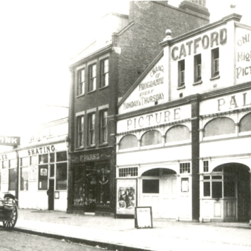 Catford Picture Palace, Sangley Road 1915