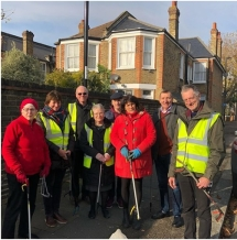 On 17th November we held our monthly litter picking event. If you are interested in joining in let us know via this website. Please dress appropriately and we will provide a litter picker. It makes such a difference to our roads!