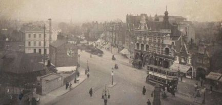Catford from St Laurence's Church 1915